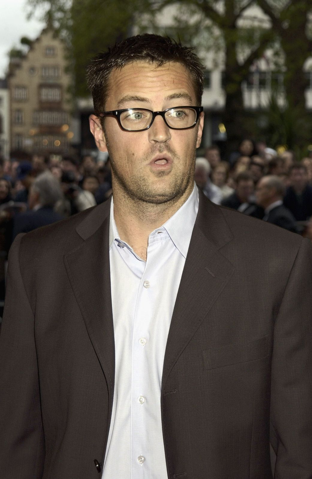 "Matthew Perry, le personnage de Chandler Bing dans la série ""Friends"" 