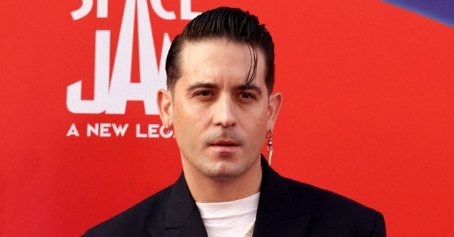 """G-Eazy attends the Warner Bros. """"Space Jam: A New Legacy"""" premiere at Regal LA Live on July 12, 2021. 
