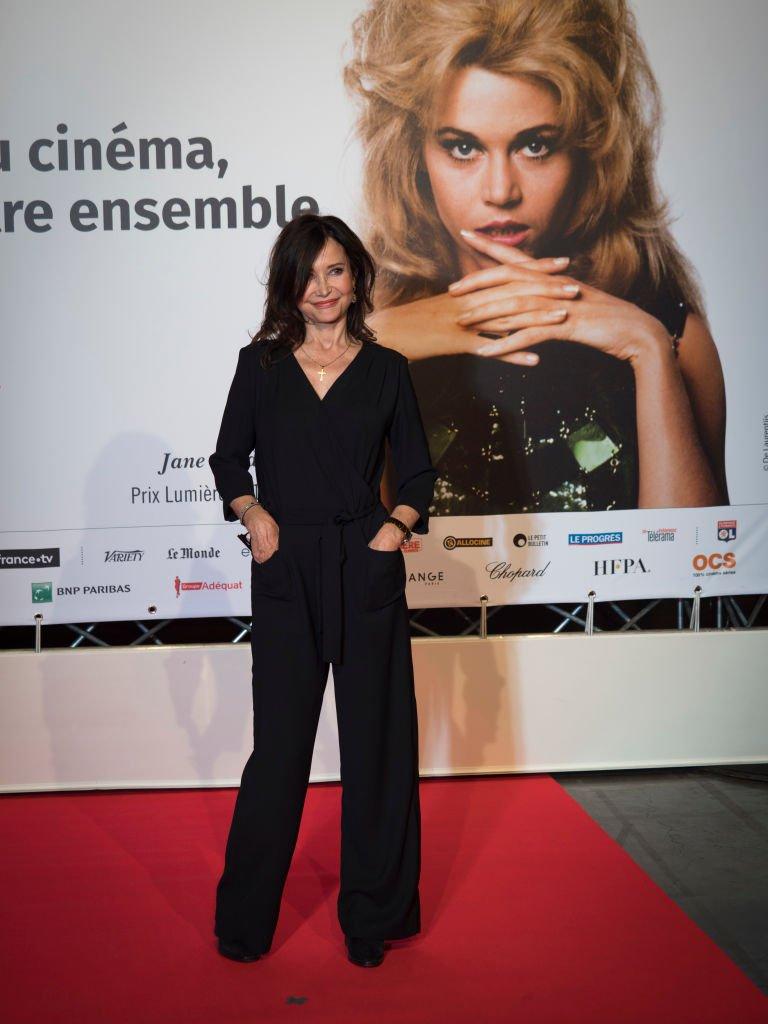 Évelyne Bouix au 10ème festival lumière à Lyon. l Source: Getty Images