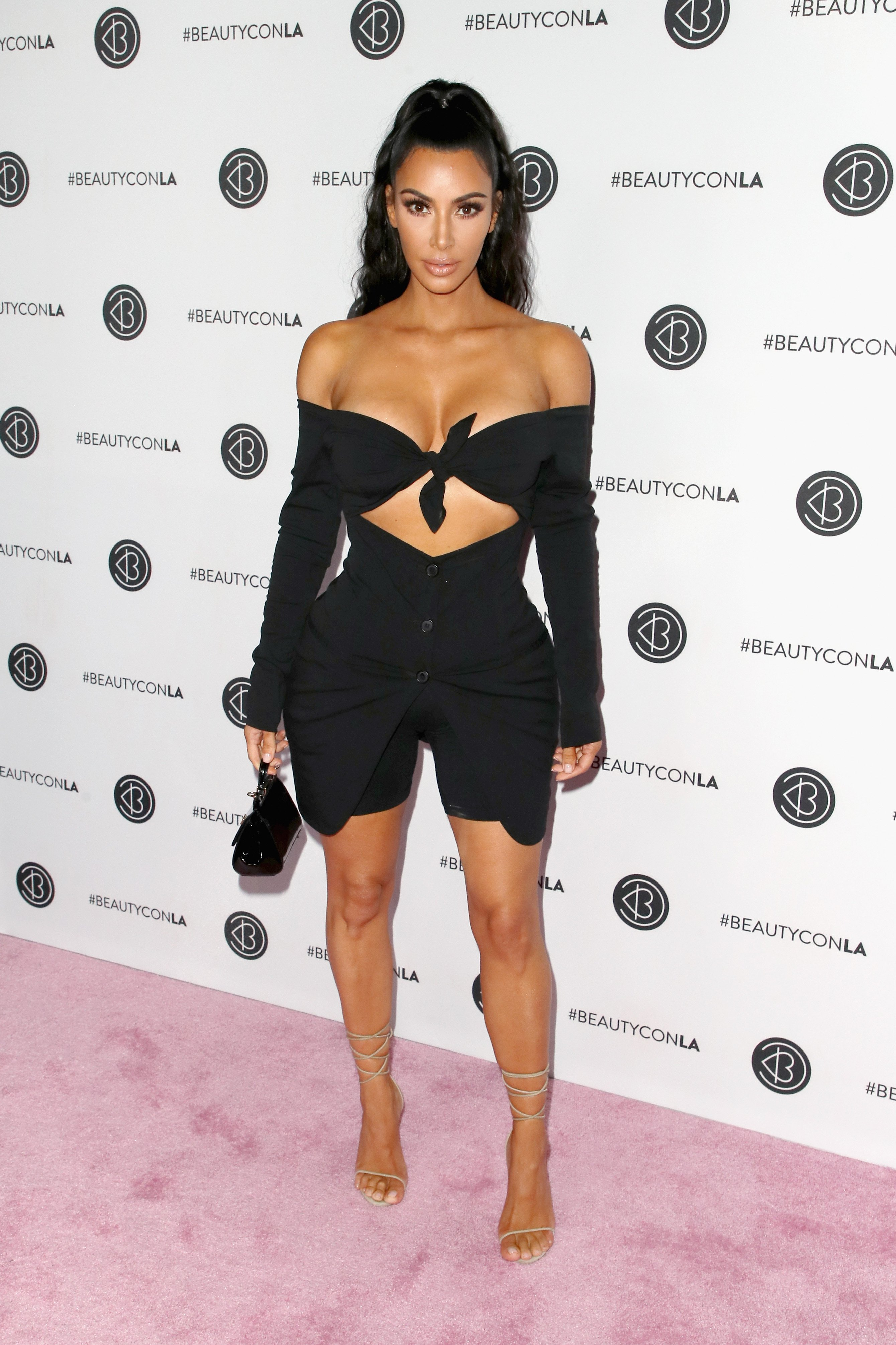 Kim Kardashian West attends the Beautycon Festival in Los Angeles, California on July 15, 2018 | Photo: Getty Images