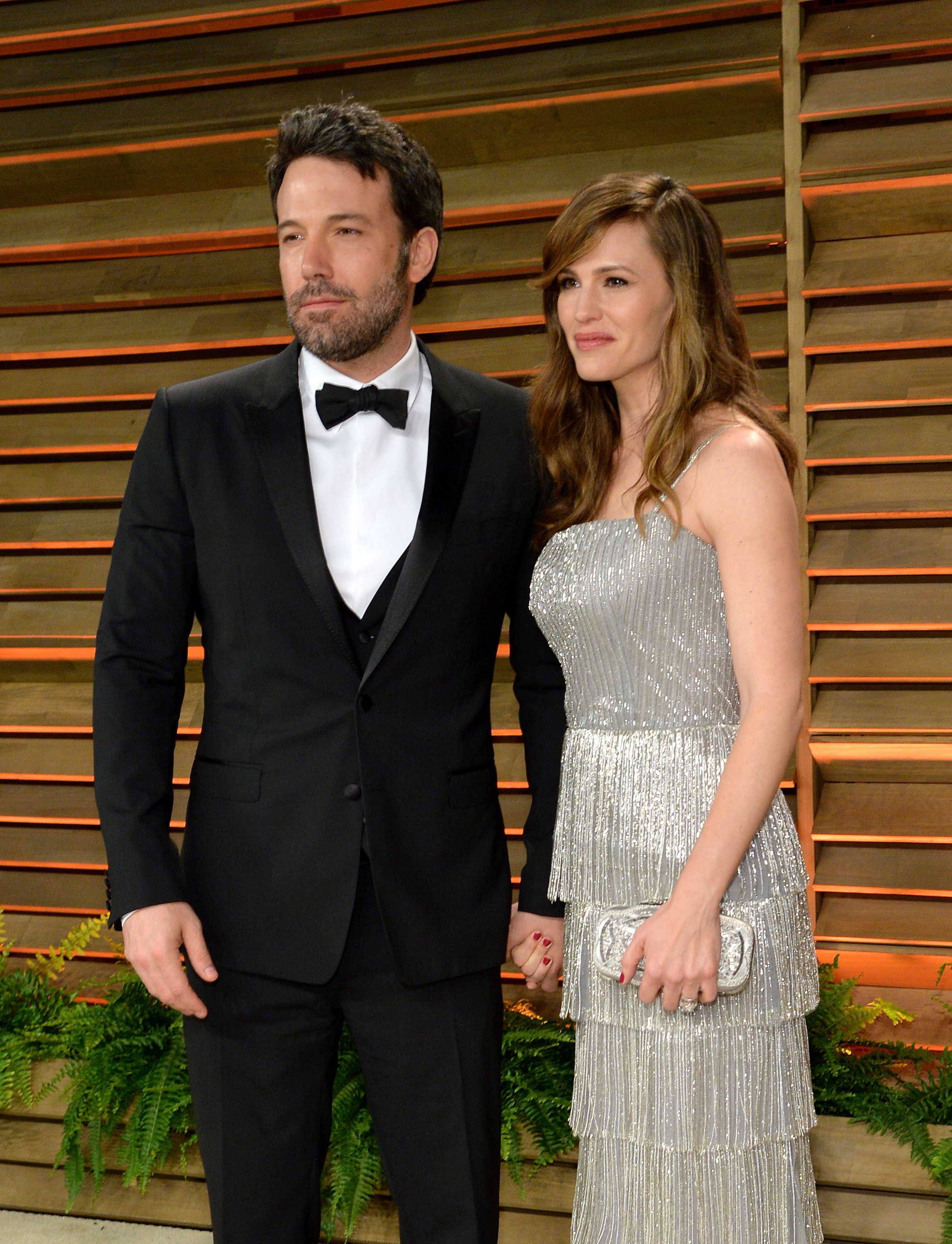 Ben Affleck and actress Jennifer Garner at the 2014 Vanity Fair Oscar Party Hosted By Graydon Carter on March 2, 2014   Photo: Getty Images