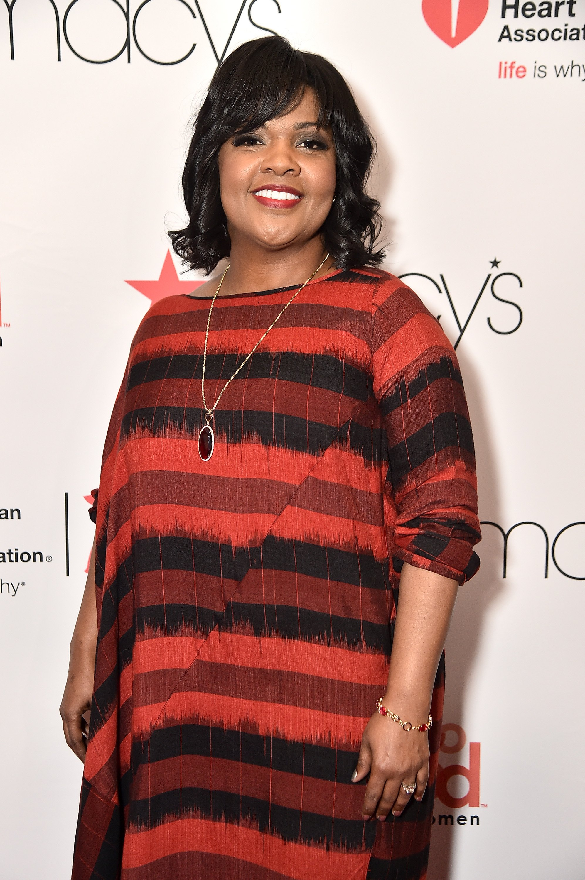 CeCe Winans attends the Go Red For Women Red Dress Collection in New York City on February 8, 2018 | Photo: Getty Images