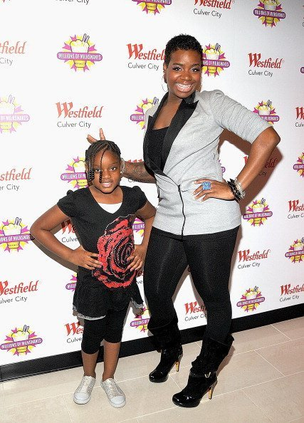Fantasia Barrino and daughter Zion Barrino attend Millions of Milkshakes on November 24, 2010 in Culver City, California.| Photo:Getty Images
