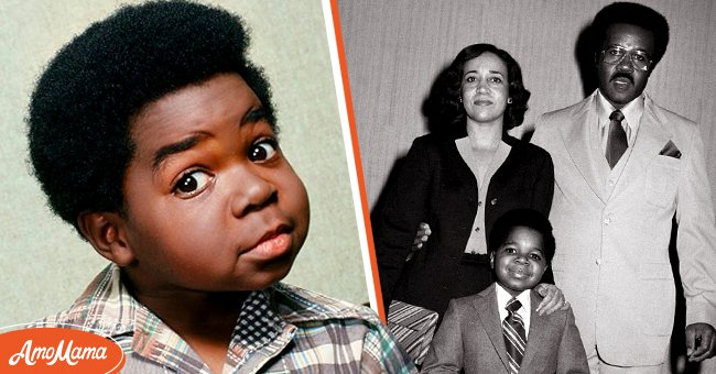 """LEFT: Gary Coleman pictured in """"Diff'rent Strokes."""" RIGHT: Coleman and his parents, Sue and Willie Coleman pictured together.   Photo: Getty Images"""