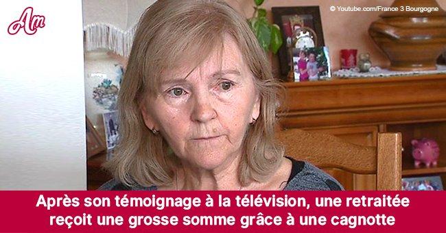 Monique, 65 ans, vit sur 727€: somme importante qu'elle reçoit d'une cagnotte après ses aveux