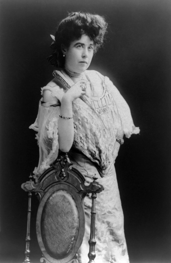 "Mrs. James J. ""Molly"" Brown, survivor of the Titanic I Image: Wikimedia Commons"