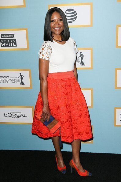 Angela Robinson arrives at the Essence 9th Annual Black Women event in Hollywood at the Beverly Wilshire Four Seasons Hotel in Beverly Hills | Photo: Getty Images
