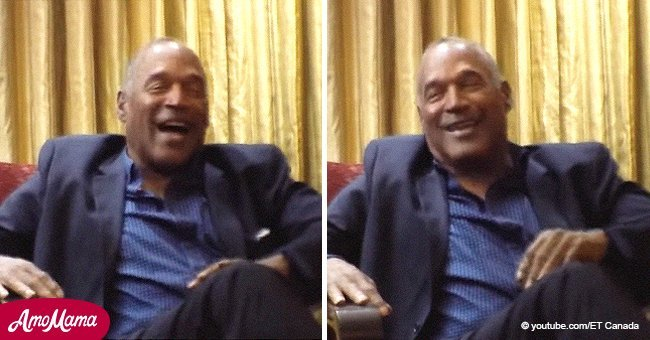 O.J. Simpson laughs during faux interview about killing girlfriends