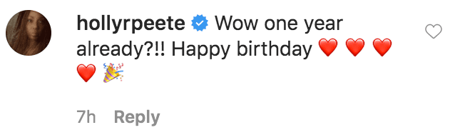 Holly Robinson Peete commented on a cartoon photo of Jasmine Jordan's son in honor of his first birthday | Source: Instagram.com/mickijae