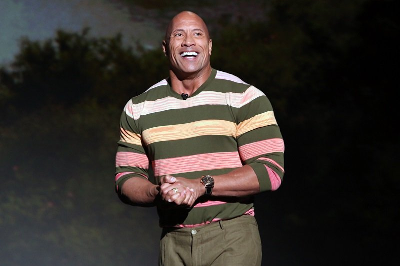 Dwayne Johnson on August 24, 2019 in Anaheim, California | Photo: Getty Images