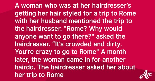 Joke: Woman Has a Conversation with 'the Worst Hairdresser Ever'