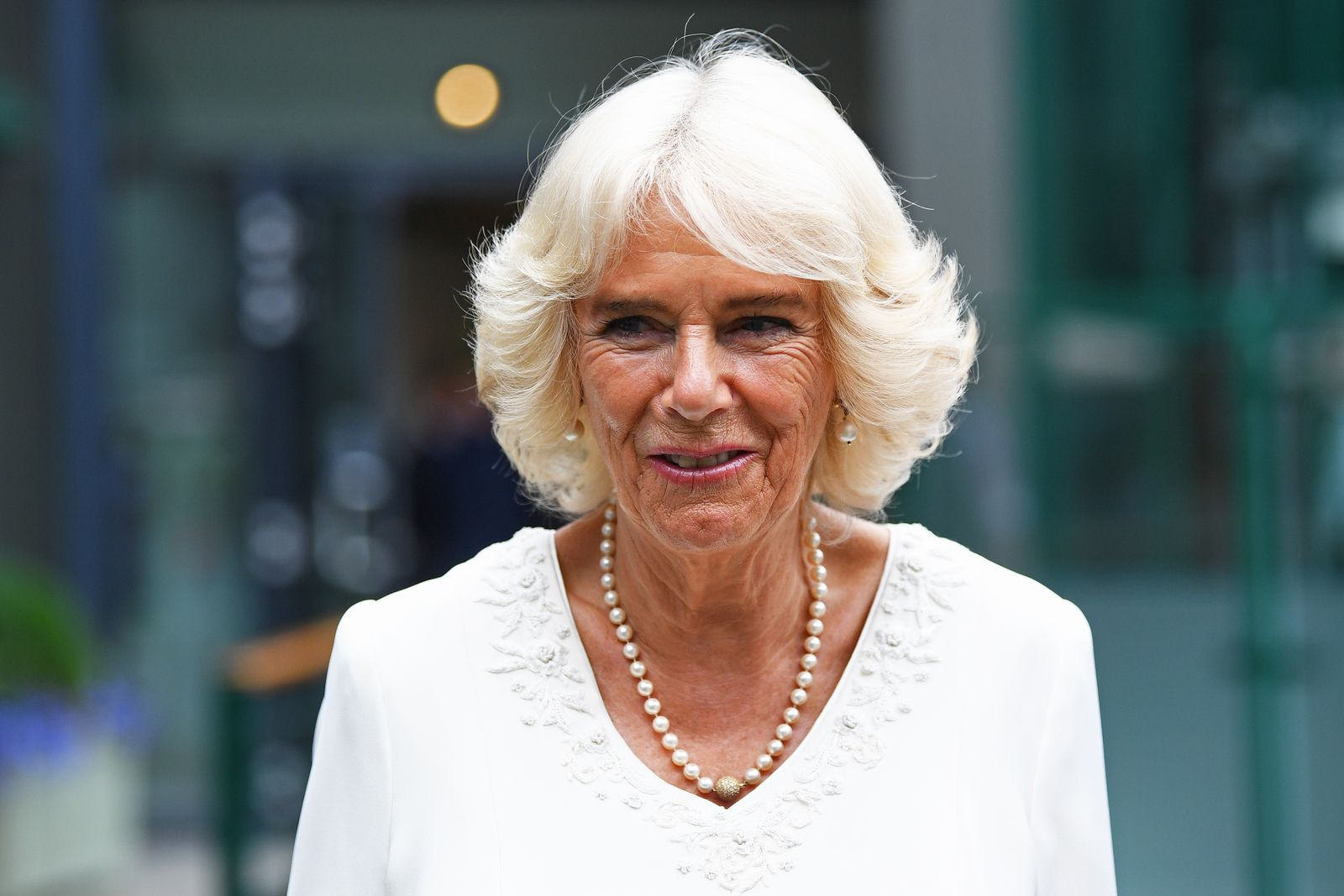 Camilla, Duchess of Cornwall at the All England Lawn Tennis and Croquet Club on July 10, 2019. | Getty Images