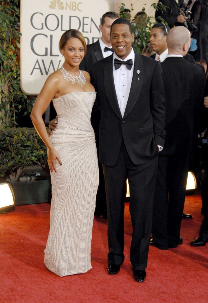 Beyonce and Jay-Z at the red carpet of the 66th Annual Golden Globe Awards in January 2009. | Photo: Getty Images