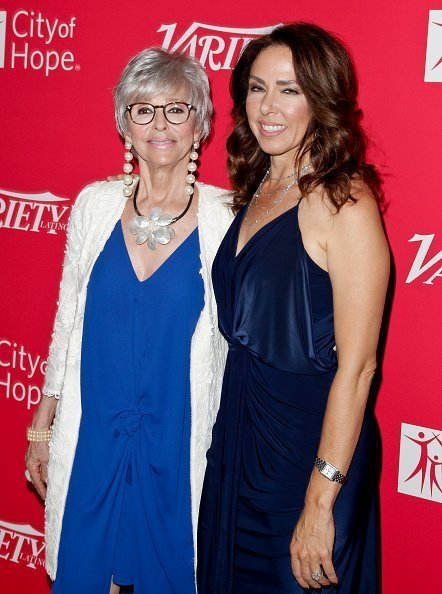 Rita Moreno and Fernanda Luisa Gordon at The London West Hollywood on September 28, 2016 in West Hollywood, California. | Photo: Getty Images