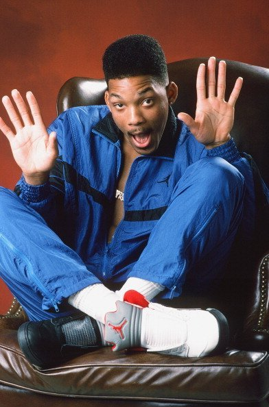 "Actor Will Smith as the Fresh Prince on the show, ""The Fresh Prince of Bel-Air"" 