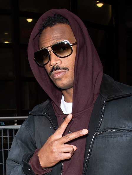 """Marlon Wayans leaving Fox 29's """"Good Day"""" on November 22, 2019.   Photo: Getty Images"""