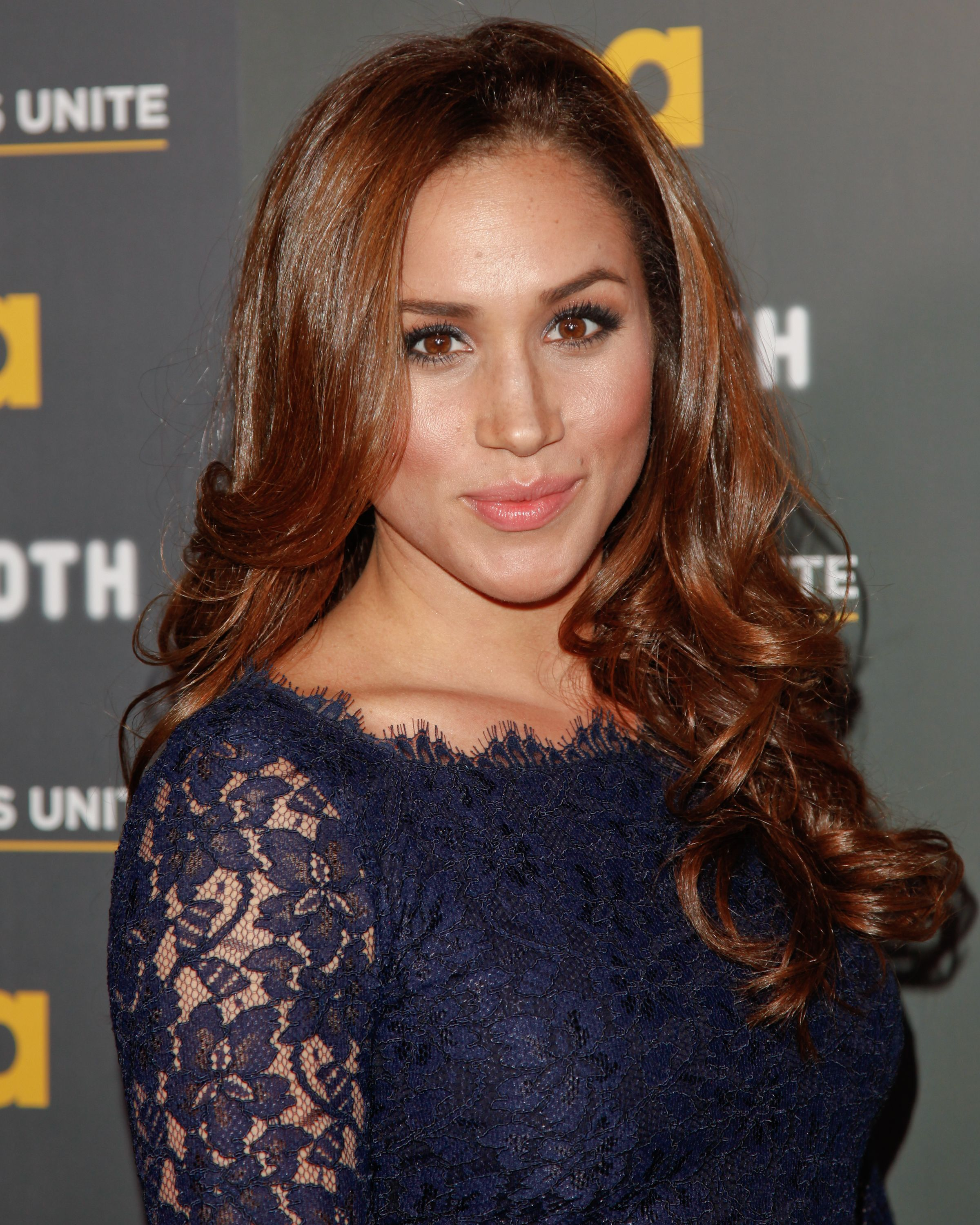 """Meghan Markle during the USA Network and The Moth presentation of """"A More Perfect Union: Stories Of Prejudice And Power"""" at Pacific Design Center on February 15, 2012 in West Hollywood, California. 