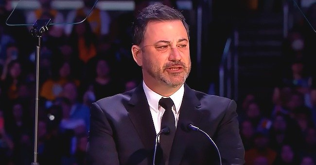 Jimmy Kimmel Fought Back Tears during His Emotional Speech at Kobe and Gianna Bryant's Memorial