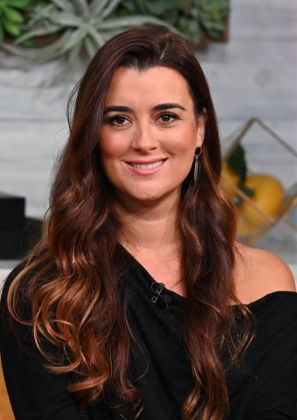 """Cote De Pablo, star of CBS' """"NCIS"""" visiting BuzzFeed's """"AM To DM"""" in New York City.