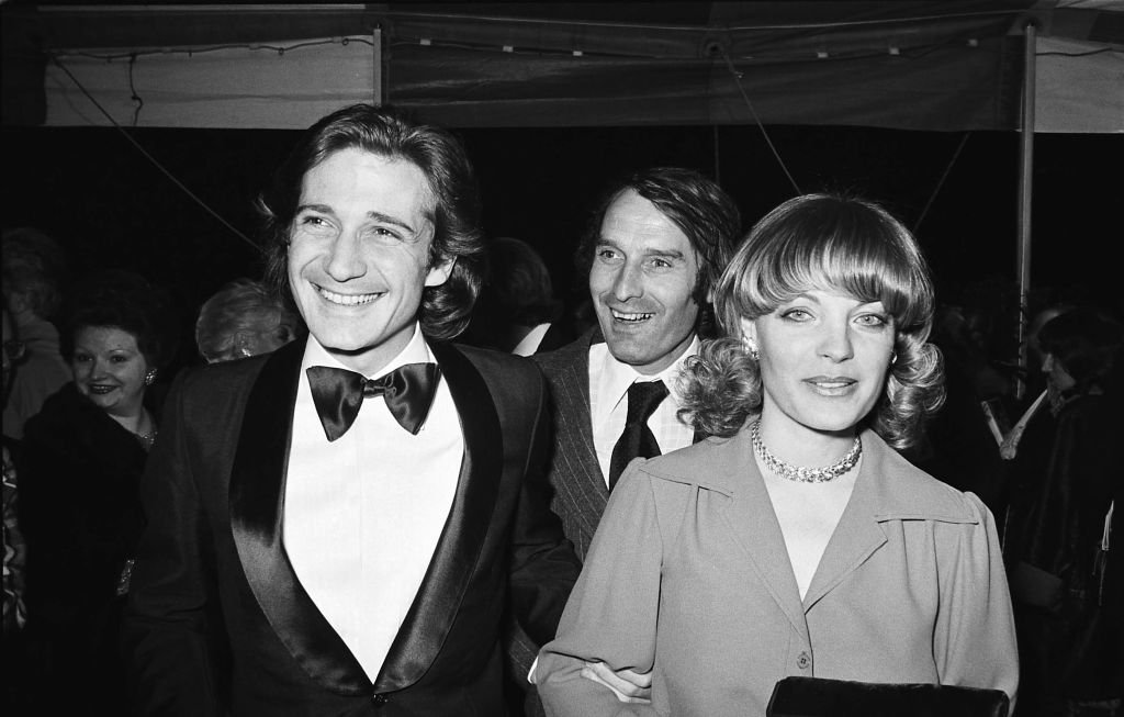 Romy Schneider et Daniel Biasini, Gala de l'Union, 1975. | Photo : Getty Images