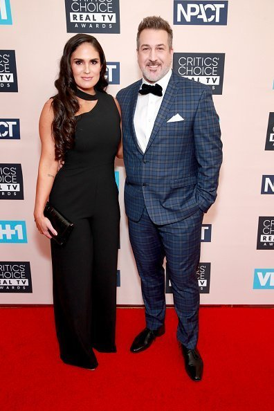 Izabel Araujo and Joey Fatone at The Beverly Hilton Hotel on June 02, 2019 in Beverly Hills, California. | Photo: Getty Images