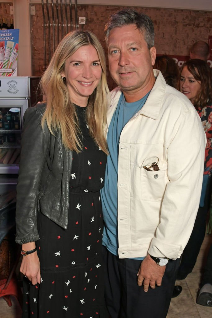 "Lisa Faulkner and John Torode attend the ""Mother of Him"" after party in London on September 24, 2019 