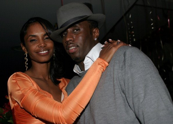Kim Porter and Sean 'P. Diddy' Combs at Canal Room in New York, United States. | Photo: Getty Images.