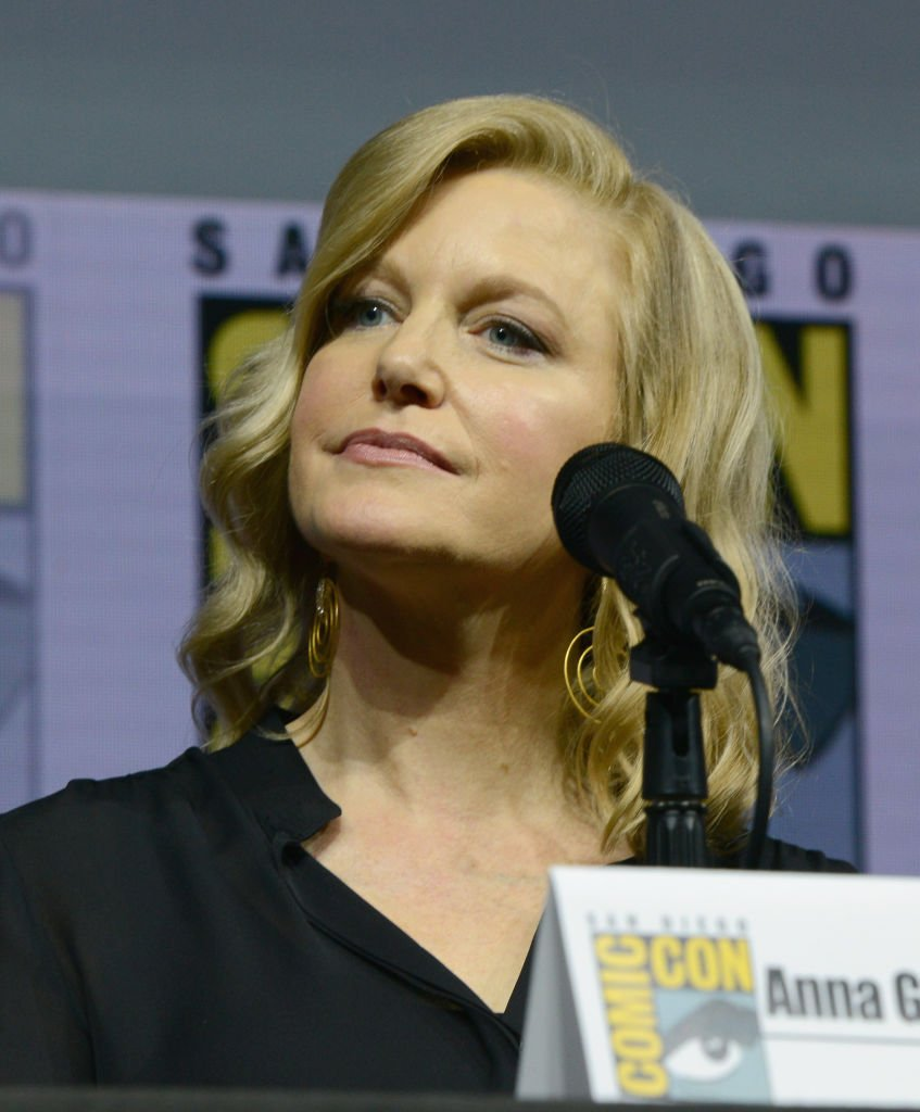 """Anna Gunn during the """"Breaking Bad"""" 10th Anniversary Celebration during Comic-Con International 2018 at San Diego Convention Center on July 19, 2018 in San Diego, California.   Photo: Getty Images"""