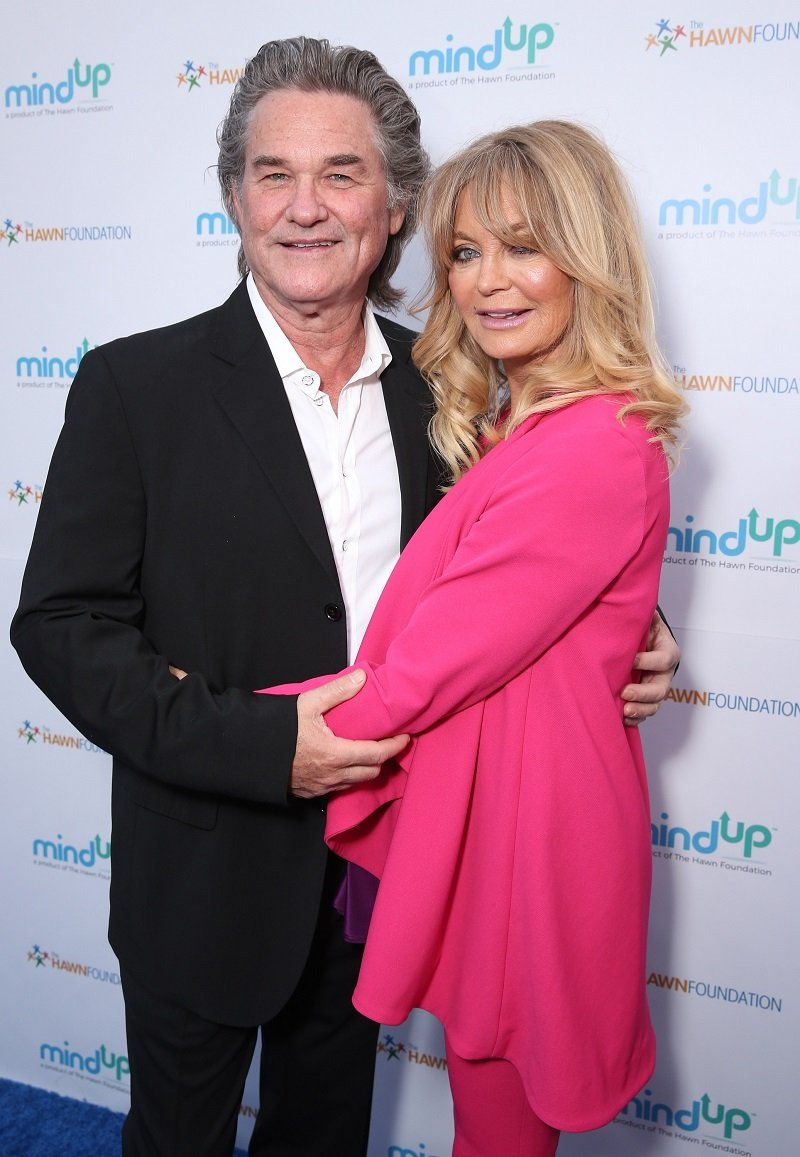 Kurt Russell and Goldie Hawn on May 6, 2016 in Beverly Hills, California | Photo: Getty Images