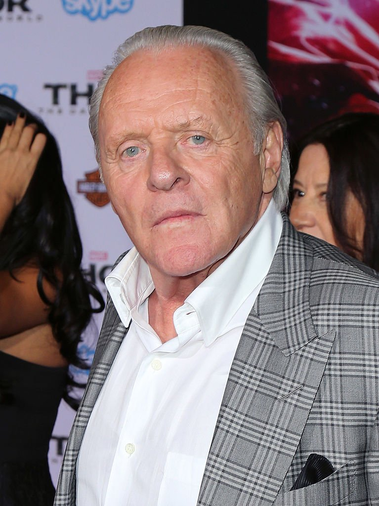 "Actor Sir Anthony Hopkins attends the premiere of Marvel's ""Thor: The Dark World"" at the El Capitan Theatre 