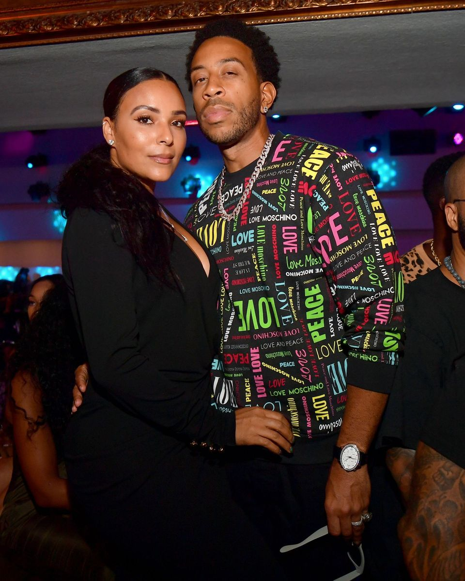 Ludacris and Eudoxie Bridges at the Jeezy TM-104 Album Release Party at Compound on September 1, 2019 in Atlanta, Georgia. | Source: Getty Images