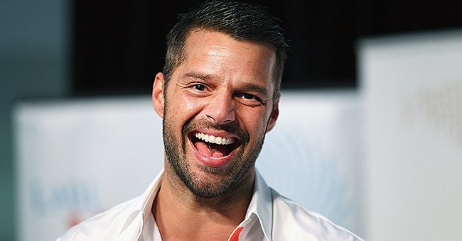 Ricky Martin Delights His Fans Showing off This Rare Photo of His 1-Year-Old Son Renn