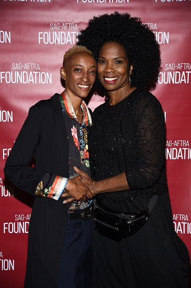 "Director Justice Singleton and actress Tyra Ferrell at a ""Boyz N The Hood"" event at the Ford Theatre on June 27, 2019 
