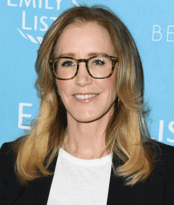 Felicity Huffman looking casual at the EMILY's List 2nd Annual Pre-Oscars Event,on February 19, 2019, in Los Angeles, California | Source: Getty Images (Photo by Jon Kopaloff/FilmMagic)