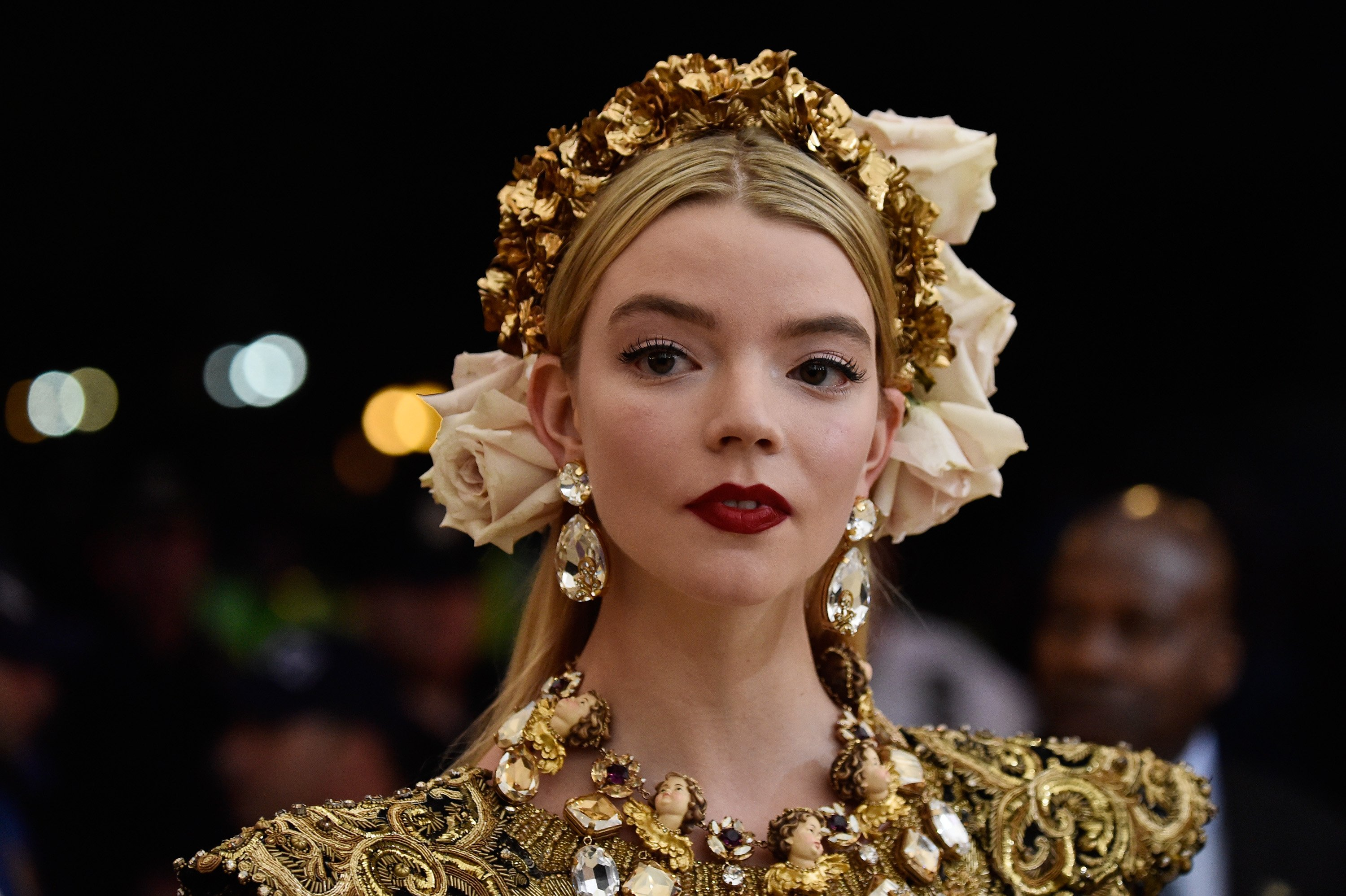 Anya Taylor-Joy at the Heavenly Bodies: Fashion & The Catholic Imagination Costume Institute Gala at The Metropolitan Museum of Art in New York City | Photo: Frazer Harrison/FilmMagic via Getty Images