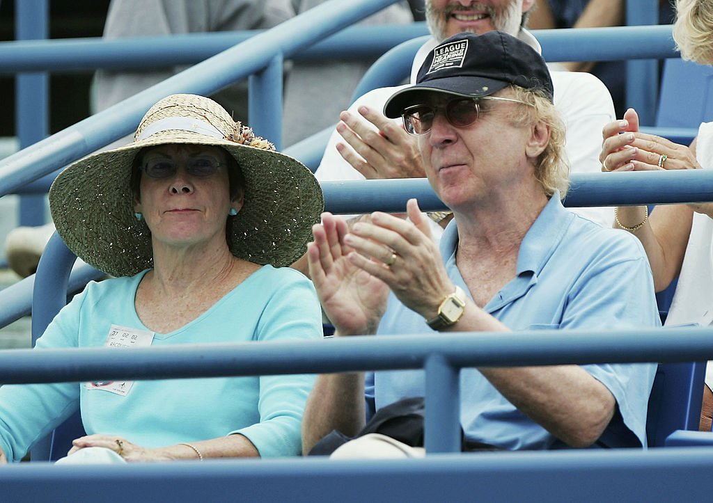 Actor Gene Wilder and wife Karen Boyer on August 27, 2004 at the Connecticut Tennis Center at Yale University | Photo: Getty Images