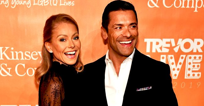 Kelly Ripa Reveals Adorable Family Christmas Card with Husband Mark Consuelos and Their Children