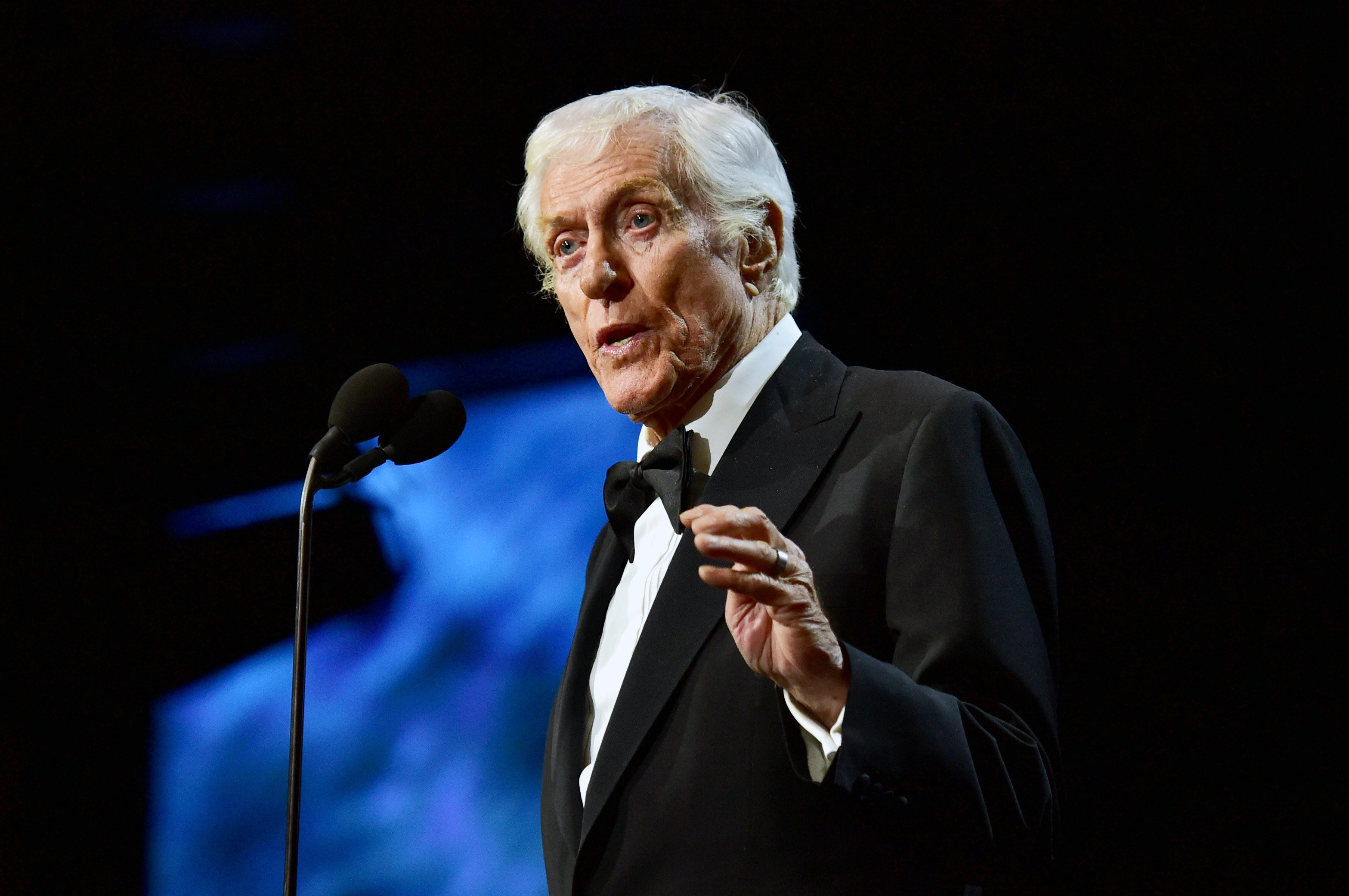 Dick Van Dyke on October 27, 2017 in Beverly Hills, California | Source: Getty Images