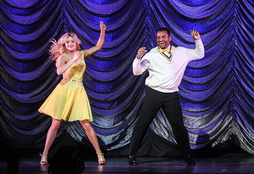 """Witney Carson and Alfonso Ribeiro danced their way to victory on """"DWTS"""" in 2014. 