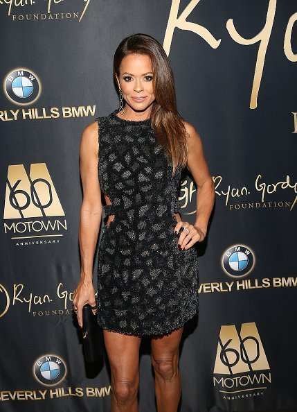 "Brooke Burke attends the Ryan Gordy Foundation ""60 Years of Motown"" Celebration on November 11, 2019 