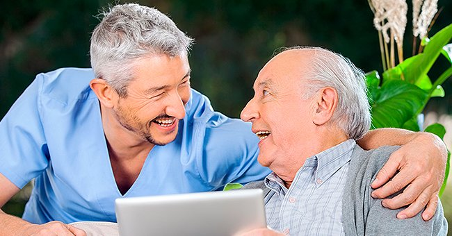 Daily Joke: Man Sees His Elderly Father Taking Hot Chocolate with Viagra
