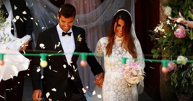 """La cérémonie du mariage de Kerine Ferri et Yoann Gourcuff s'est transformée en """"soirée pizza"""""""