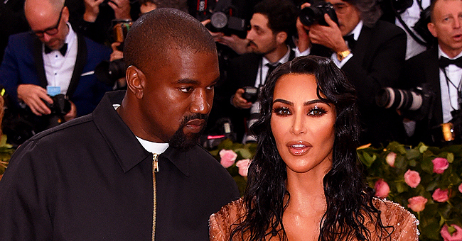 KKW Beauty Founder Kim Kardashian Got in Trouble with Kanye West after Daughter North Wore Makeup