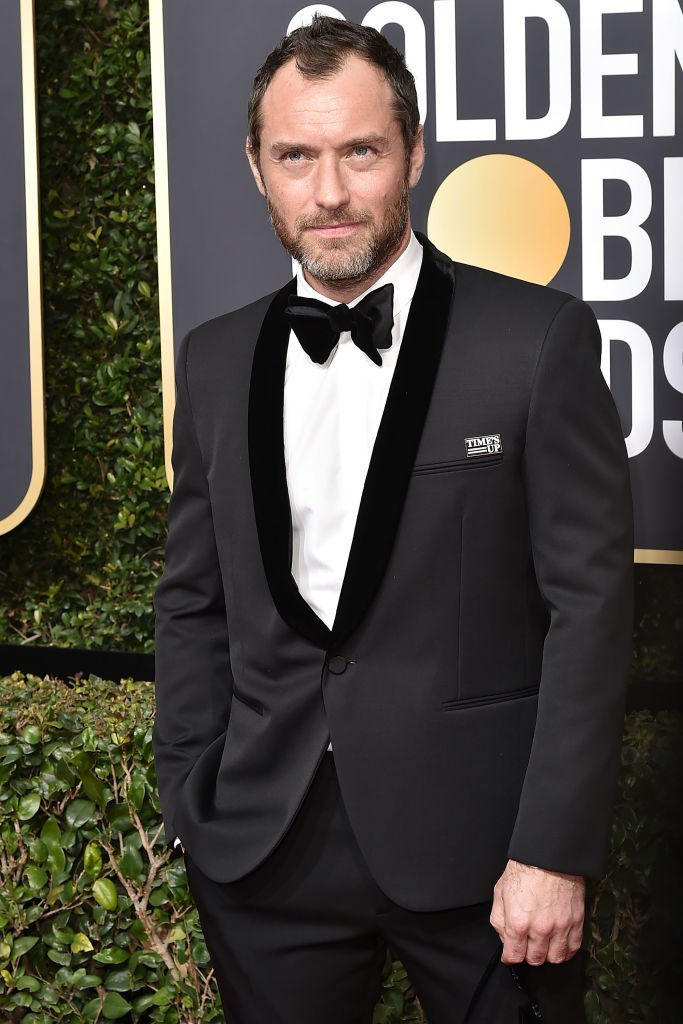 Jude Law attends the 75th Annual Golden Globe Awards at The Beverly Hilton Hotel on January 7, 2018 | Photo: Getty Images