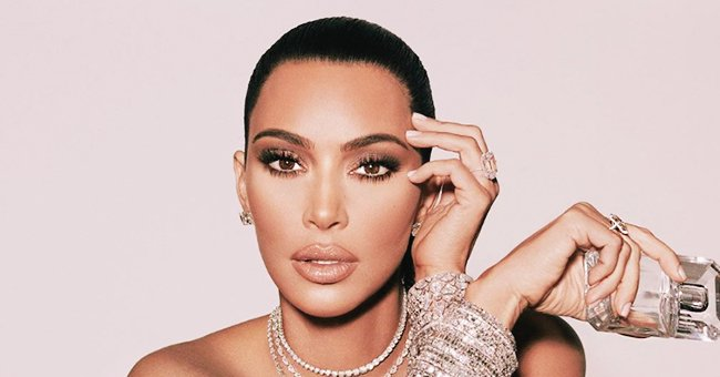 Kim Kardashian from KUWTK Appears Upset after Versace Dress Doesn't Fit Her