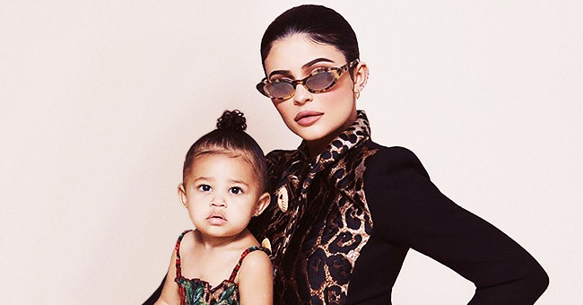 Kylie Jenner's 17-Month-Old Daughter Stormi Makes Her Cover Debut for Harper's Bazaar Arabia