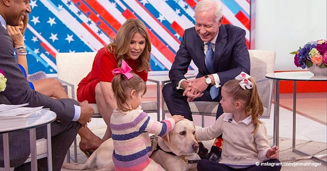Jenna Bush Hager's Daughters Meet Service Dog Sully One Last Time since George H. W. Bush's Death