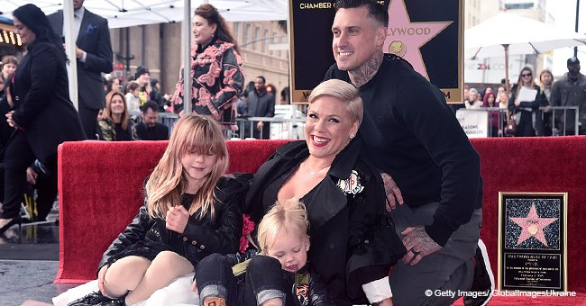 Pink Clapped Back Hard at a Hater Who Attacked a Family Photo of Her Children and Husband