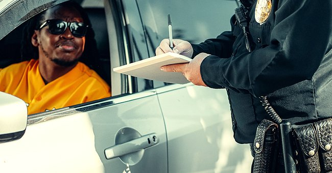 Daily Joke: A Man Walks Out the Store to Find a State Trooper Writing a Parking Ticket