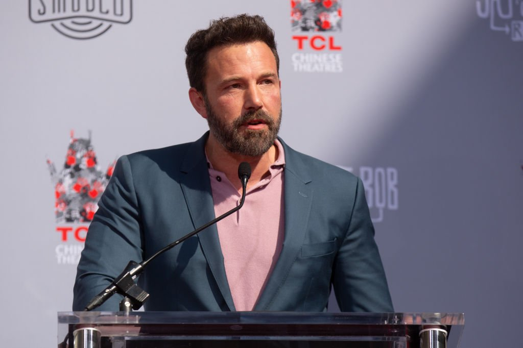 Ben Affleck attends Kevin Smith and Jason Mewes Hands and Footprint Ceremony at TCL Chinese Theatre on October 14, 2019. | Photo: Getty Images